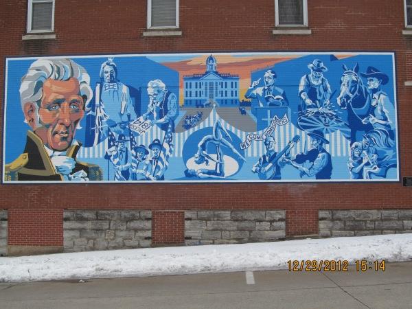 Mural in Uptown Jackson